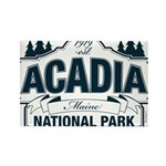 Acadia National Park Rectangle Magnet (100 pack)