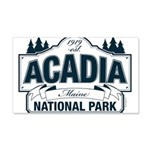 Acadia National Park 20x12 Wall Decal