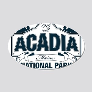 Acadia National Park 20x12 Oval Wall Decal