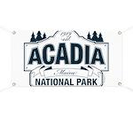 Acadia National Park Banner