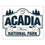 Acadia National Park Small Poster