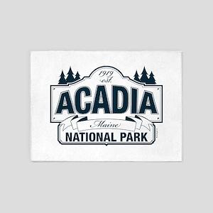 Acadia National Park 5'x7'Area Rug