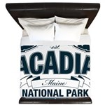 Acadia National Park King Duvet