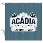 Acadia National Park Shower Curtain