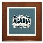 Acadia National Park Framed Tile