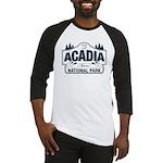 Acadia National Park Baseball Jersey