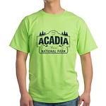 Acadia National Park Green T-Shirt
