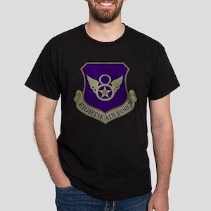 USAF-8th-AF-Shield-Subdued-Blue T-Shirt