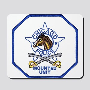 Chicago Mounted Police Mousepad