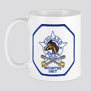 Chicago Mounted Police Mug