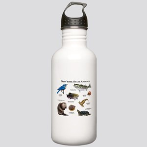 New York State Animals Stainless Water Bottle 1.0L