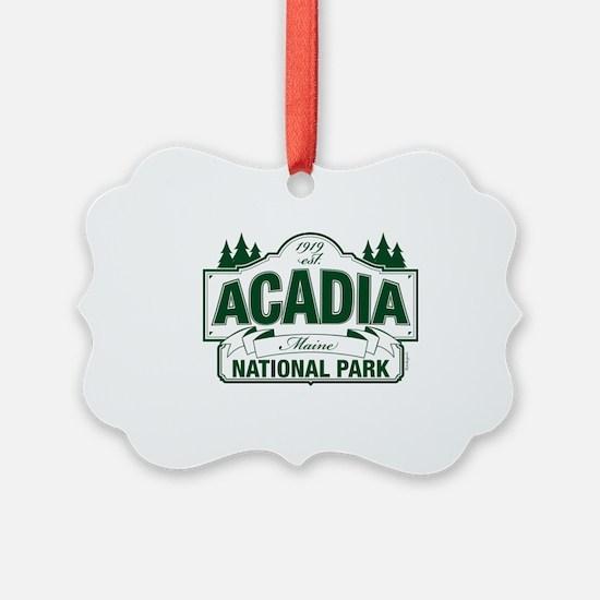 Acadia National Park Ornament