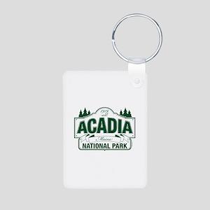 Acadia National Park Aluminum Photo Keychain