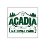 Acadia National Park Square Sticker 3
