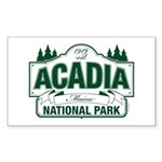 Acadia National Park Sticker (Rectangle 50 pk)