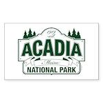 Acadia National Park Sticker (Rectangle 50 pk)