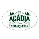 Acadia National Park Sticker (Oval 50 pk)