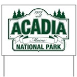 Acadia National Park Yard Sign