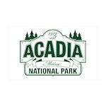 Acadia National Park 35x21 Wall Decal