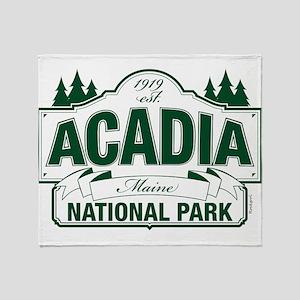 Acadia National Park Throw Blanket
