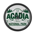 Acadia National Park Large Wall Clock