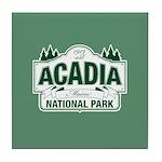 Acadia National Park Tile Coaster