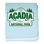 Acadia National Park baby blanket