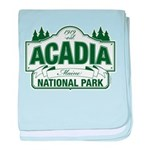 Acadia National Park baby blanket
