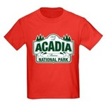 Acadia National Park Kids Dark T-Shirt