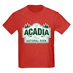 Acadia National Park Kids Dark T-Shirt