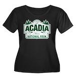 Acadia National Park Women's Plus Size Scoop Neck