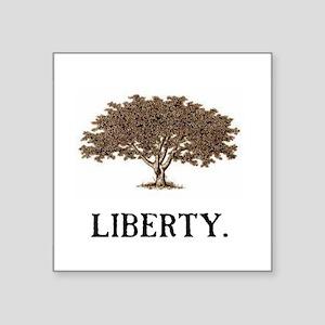 "The Liberty Tree Square Sticker 3"" x 3"""