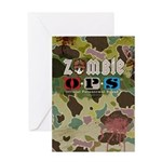Zombie OPS Hunter Greeting Card