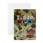 Zombie OPS Hunter Greeting Cards (Pk of 10)