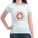 Club Plumeria Logo - Jr. Ringer T-Shirt