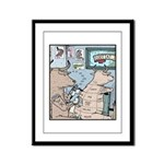 Bovine Tattoos Framed Panel Print