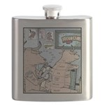 Bovine Tattoos Flask