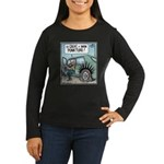 Punkture Women's Long Sleeve Dark T-Shirt