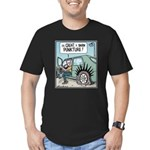 Punkture Men's Fitted T-Shirt (dark)