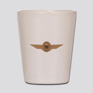 German Parachutist Shot Glass