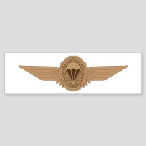 German Parachutist Sticker (Bumper)