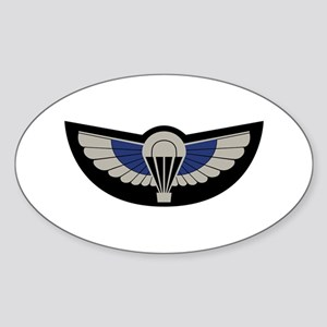 SAS Airborne Sticker (Oval)