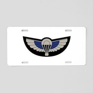 SAS Airborne Aluminum License Plate