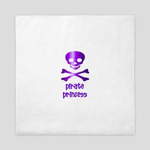 Pirate Princess Queen Duvet