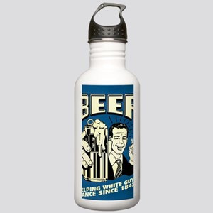 Beer Helping White Guy Stainless Water Bottle 1.0L