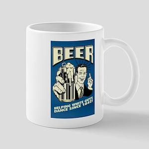 Beer Helping White Guys Dance Mugs