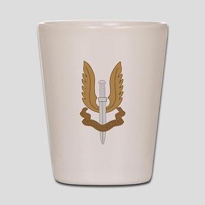 British SAS Shot Glass