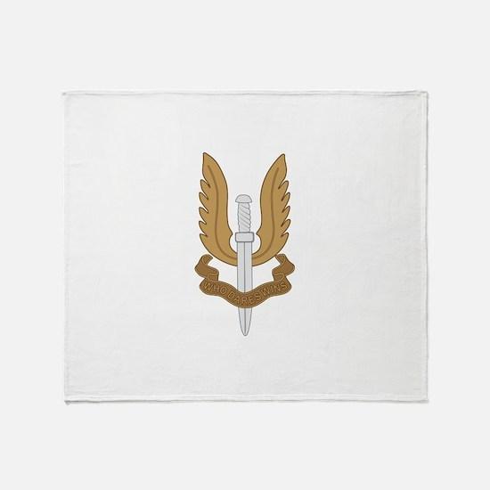 British SAS Throw Blanket