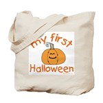 Babys First Halloween Treat Tote Bag