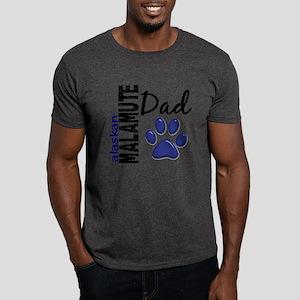 Alaskan Malamute Dad 2 Dark T-Shirt